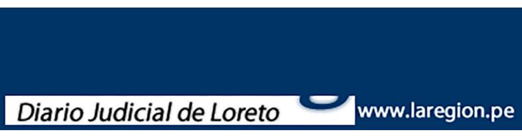 La region, Diario Judicial